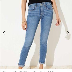 Loft Size 26 crop jeans